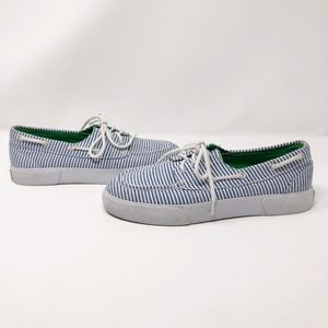 RALPH LAUREN POLO Lilla Blue/White Tennis shoes 8
